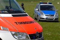 Am 23. Juni kam es zu einem Unfall auf einer Wiese bei Wethen.