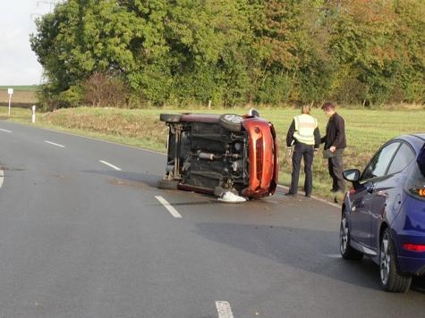Bei Marienmünster ereignete sich am Mittwoch ein schwerer Unfall.