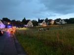 Die Freiwilligen Feuerwehren aus Brilon, Madfeld, Alme, Rösenbeck und Thülen wurden am 28. August alarmiert