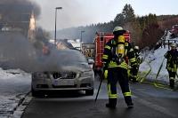 Am Volvo entstand Totalschaden.