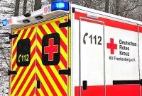 Mit einem RTW wurde die 80-jährige Frau nach Bad Wildungen ins Krankenhaus gebracht.