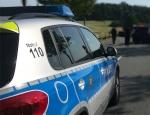 Zwei Menschen verletzten sich am 15. September auf der Bundesstraße 485 bei einem Motorradunfall.