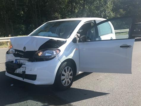 Am 20. September ereignete sich ein Unfall auf der Bundesstraße 252 zwischen Berndorf und Twiste.