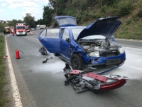 Am Abzweig nach Sudeck ereignete sich am Mittwoch ein Verkehrsunfall.