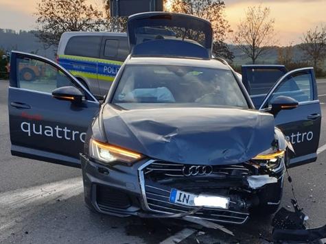 Ein Unfall auf der B 251 sorgte am 30. Oktober für Verkehrsbehinderungen.