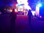 In den Abendstunden des 4. September brannte Sperrmüll auf dem Gelände eines Eimelroder Entsorgungsunternehmens.