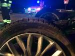Am 5. März kam es infolge von Straßenglätte auf der L 3076 zu einem Alleinunfall ohne Personenschaden