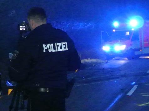 Eine Alkoholfahrt auf der Kreisstraße 40 endete am 6. März in einem Waldstück bei Reinhardshausen