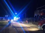 In Frankenberg ereignete sich ein Kellerbrand.