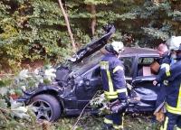 Bei Essentho ereignete sich am 19. September ein Verkehrsunfall.