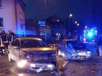 Am 29. November krachte es in der Flechtdorfer Straße - Polizei, Retter und Feuerwehr waren im Einsatz.