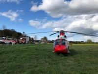 Am 1. Mai kam es auf der Bundesstraße 253 zu einem schweren Verkehrsunfall - die Polizei ermittelt derzeit die Hintergründe des Unfalls.