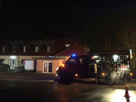 Am 16. Januar wurde in der Asylunterkunft in Dorfitter Feuer gelegt - der Täter ist flüchtig.