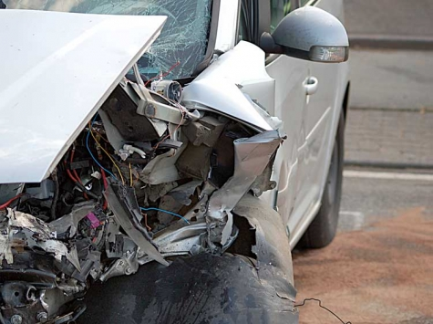 Glatteis: Ein Verkehrsunfall ereignete sich am 19. November bei Goddelsheim.