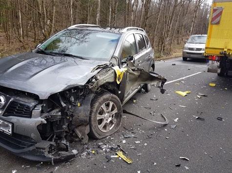 Am 21. Februar kam es auf der Ruhrstraße bei Somplar zu einem Verkehrsunfall.