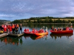 Am 5. August stand ein gemeinsamerÜbngsabend der DLRG, der Johanniter Unfallhilfe und der Freiwilligen Feuerwehr Diemelsee auf dem Programm.