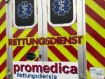 Mit einem RTW wurde eine verunfallte Frau am 24. Juni in das Krankenhaus nach Bad Arolsen gebracht.