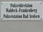 Eine undurchsichtige Tat beschäftigt die Beamten der Arolser Polizei