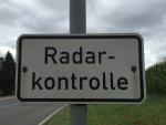 Zwischen Hemfurth und Affoldern wird derzeit eine Geschwindigkeitskontrolle durchgeführt.