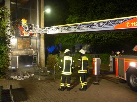 In Kassel kam es am Donnerstag zu einem Gebäudebrand.