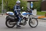 Die Polizei kontrolliert an den Osterfeiertagen auch im Landkreis Waldeck-Frankenberg.