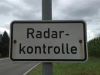 In Bad Wildungen stehen momentan zwei Blitzer.