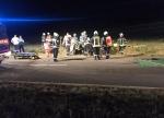 Zwischen Korbach und Flechtdorf ereignete sich am 2. Oktober gegen Mitternacht ein schwerer Verkehrsunfall.