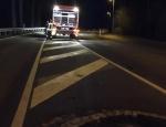 Die Freiwillige Feuerwehr Frankenberg rückte am 18. Dezember 2019 zu einem Alleinunfall aus.