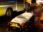 Rettungskräfte brachten am 26. September einen Verletzten in das Bad Wildunger Krankenhaus - vorausgegangen war ein Unfall.