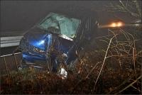 Dieser Opel wurde am 26.11.2020 komplett zerstört.
