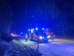 21 Stunden war die Kreisstraße 117 zwischen Burgwald und Wiesenfeld nach einem Unfall gesperrt.