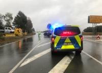 Auf der Bundesstraße 251 ereignete sich am 26. September ein Unfall - zwei Personen wurden leicht verletzt.