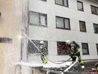 In Kassel kam es am Freitag zu einem Gebäudebrand.