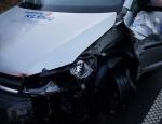 Dieser Caddy musste am 3. März mit Totalschaden abgeschleppt werden.