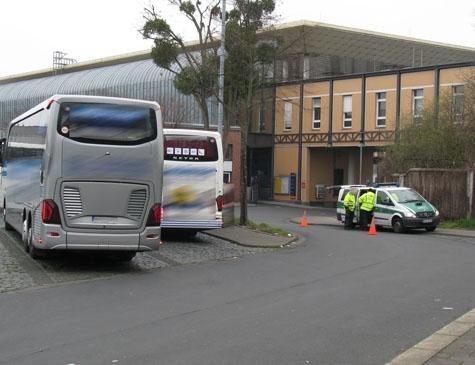 Fernbuskontrollen in Kassel - erfreuliches Ergebnis