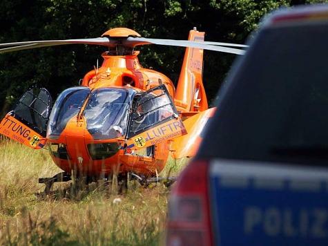 Ein Rettungshubschrauber musste angefordert werden.