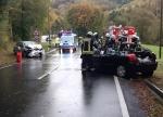Bei Obermarsberg ereignete sich am 8. Oktober ein schwerer Unfall.