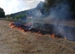 Die Feuerwehr wurde am 16. August zu einem Brand nach Wega alarmiert.