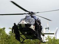 Spezialkräfte der Polizei waren am 18. Juli in Bredelar im Einsatz.