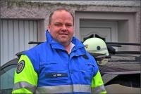 Die rettungsdienstliche Organisationsleitung bei großen Einsätzen übernimmt Mark Hiller neben seinem Beruf ehrenamtlich.