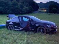 Bei Bergfreiheit ereignete sich am Samstag ein Verkehrsunfall.