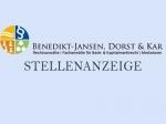 Bei Benedikt-Jansen, Dorst & Kar werden Rechtsanwaltsfachangestellte (m/w/d) gesucht.