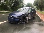 Bei Schmittlotheim ereignete sich am Montag ein Verkehrsunfall.