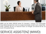 Die WAHL-GROUP sucht eine Service Assistenz (m/w/d).