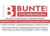 Die Bunte Steuerungen GmbH sucht derzeit einen Elektroinstallateur (m/w/d). Jetzt bewerben!