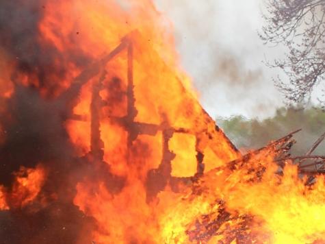 Ein Gänsestall mit bis zu 6000 Gänseküken, ist am 14. Mai 2019 zerstört worden.