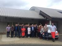 In Bad Arolsen übten am Wochenende 30 Notärzte am Feuerwehrstützpunkt.