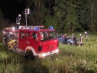 Für einen 28-jährigen Mann aus Rosenthal (Waldeck-Frankenberg) endete die Fahrt bei Emdenau in einer Wiese.