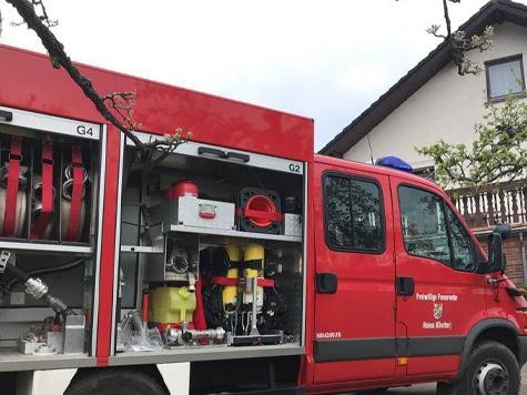 In Römershausen kam es am Sonntag zu einem Feuerwehreinsatz.