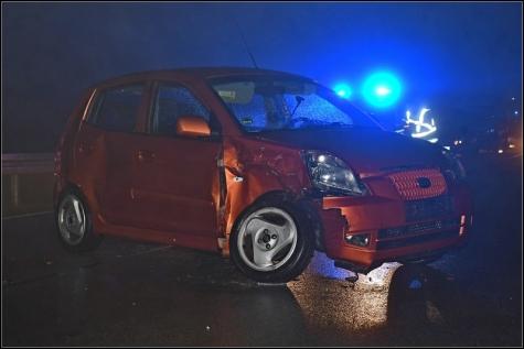 Bei Löhlbach ereignete sich am Freitagabend ein schwerer Unfall.
